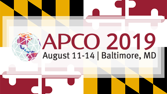 Come see us at APCO 2019
